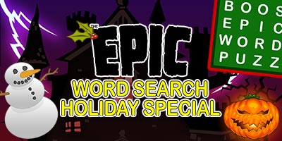 Epic Word Search Holiday Special