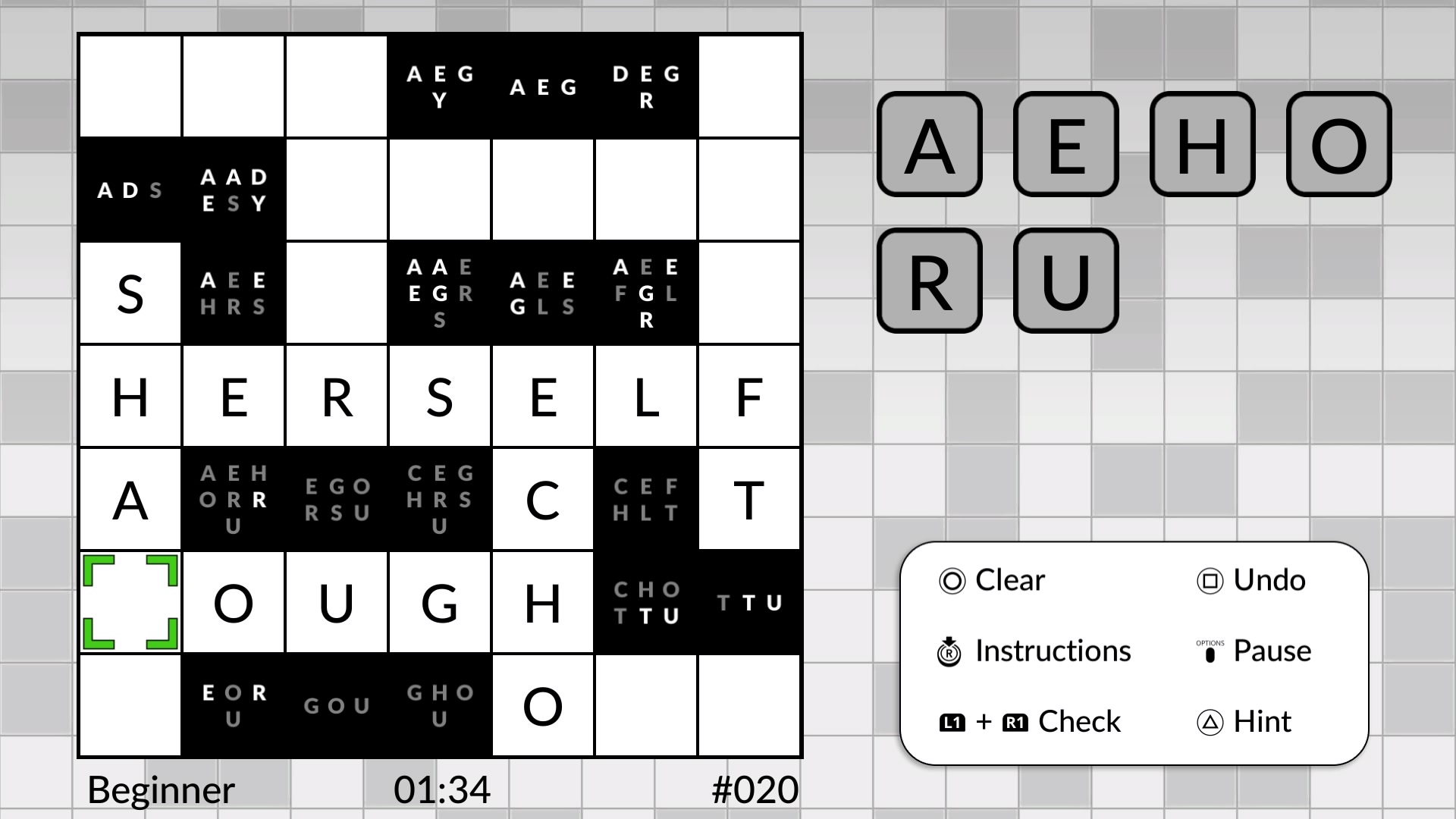Wordsweeper by POWGI – Lightwood Games